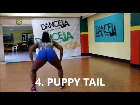 "1 Dozen (12) FEMALE DANCEHALL STEPS (DHQ STYLE) Vybz Kartel - ""Pretty Position"" [RAW]"