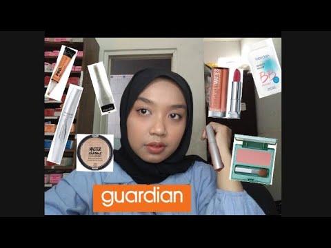 haul-make-up-bulanan-diskonan-guardian- -kulit-sawo-matang- -niki-ah