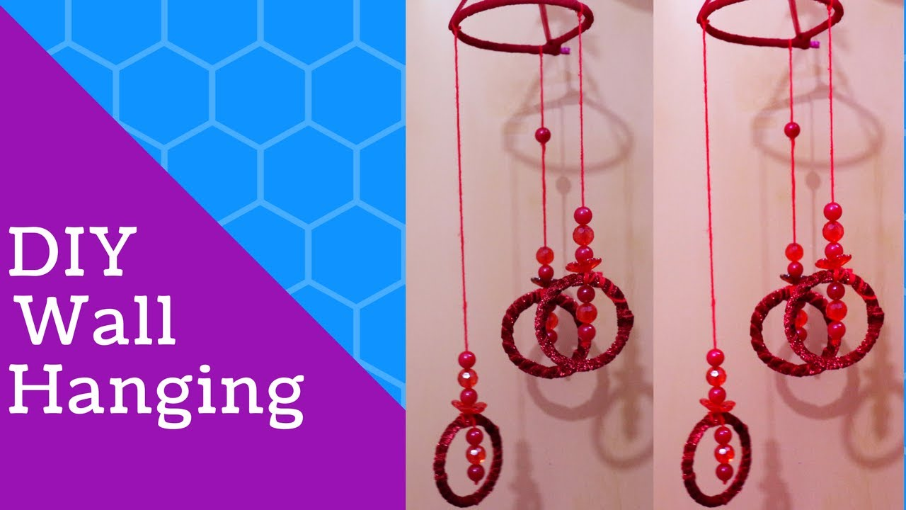 Wall Hanging With Bangles New Wall Hanging Crafts Ideas