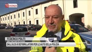 TG VICENZA (17/11/2017) - DALL'ULSS 8 DEFIBRILLATORI PER LE AUTO DELLA POLIZIA