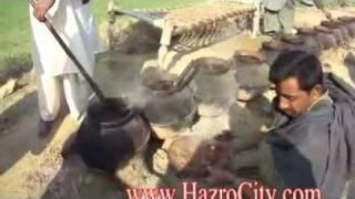 Katwa Dish Prepairing in Qibla Bandhi Hazro   YouTube
