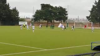 Vigor Trani - Corato: il gol di Picci su punizione