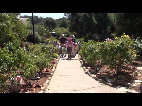 Bragg Organic Farm RoseTour -- May 28 2013