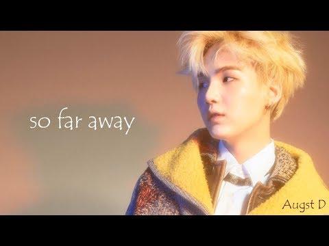 【韓中字】BTS - Agust D - So Far Away (Feat. 수란)