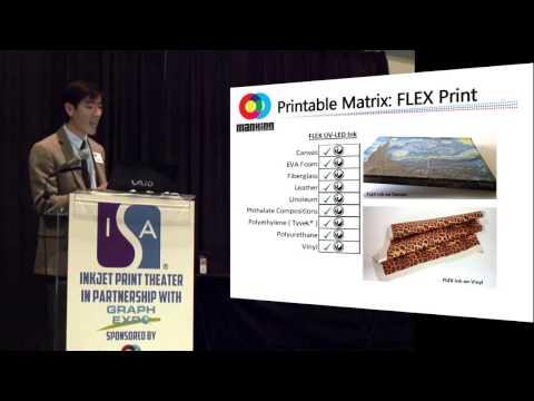 UV LED Printing Possibilities - ISA 2014