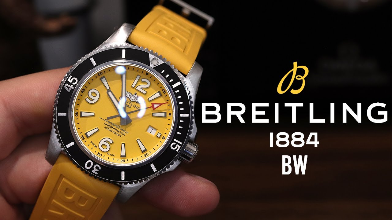 Breitling Superocean 44 Yellow Review