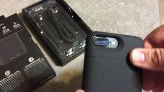 видео Чехол-аккумулятор для iPhone 7 Plus Mophie Juice Pack Air