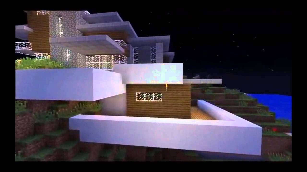 Minecraft Timelapse Modern House YouTube