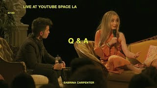 Sabrina Carpenter - Live at YouTube Space LA thumbnail