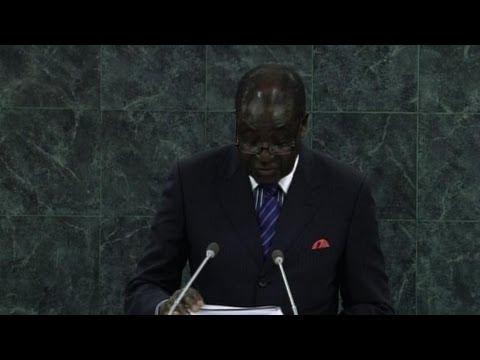 Mugabe condems economic sanctions against Zimbabwe