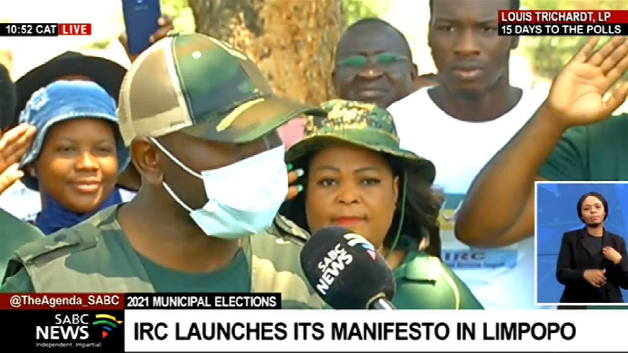 Download IRC launches manifesto in Makhado, Limpopo