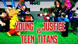 Lego Young Justice vs Teen Titans