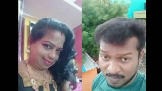 Chitra kajal with mannai sathik latest Tamil dubsmash