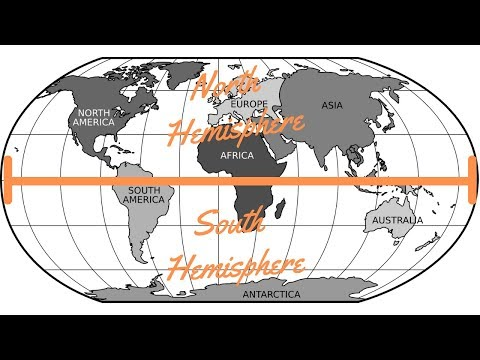 Northern Hemisphere vs Southern Hemisphere - What's The Difference between them