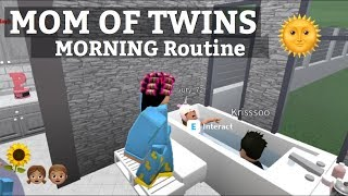 Roblox Bloxburg | Mom Of Twins Morgen Routine