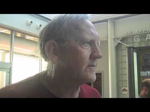 Wally Burnham on 8-14 ISU scrimmage