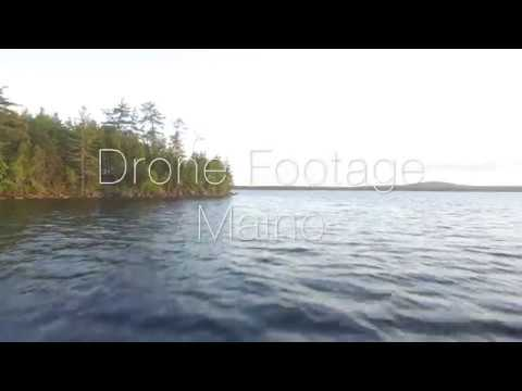 Grand Lake Stream Maine Drone Video