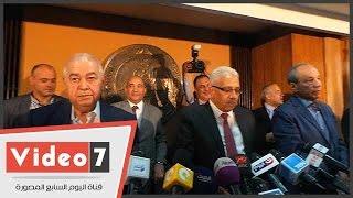 الأسرة الصحفية بالأهرام تبدأ مؤتمرها بدقيقة حدادا على أرواح شهداء الشرطة أمس