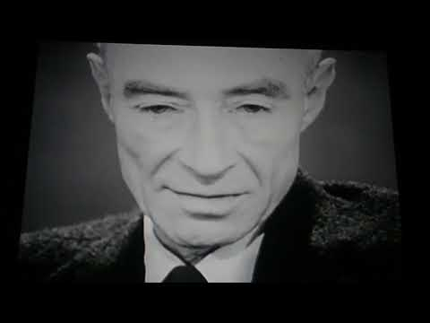 Robert J. Oppenheimer Days After The Atomic Bomb Was Dropped On Hiroshima SINISTER