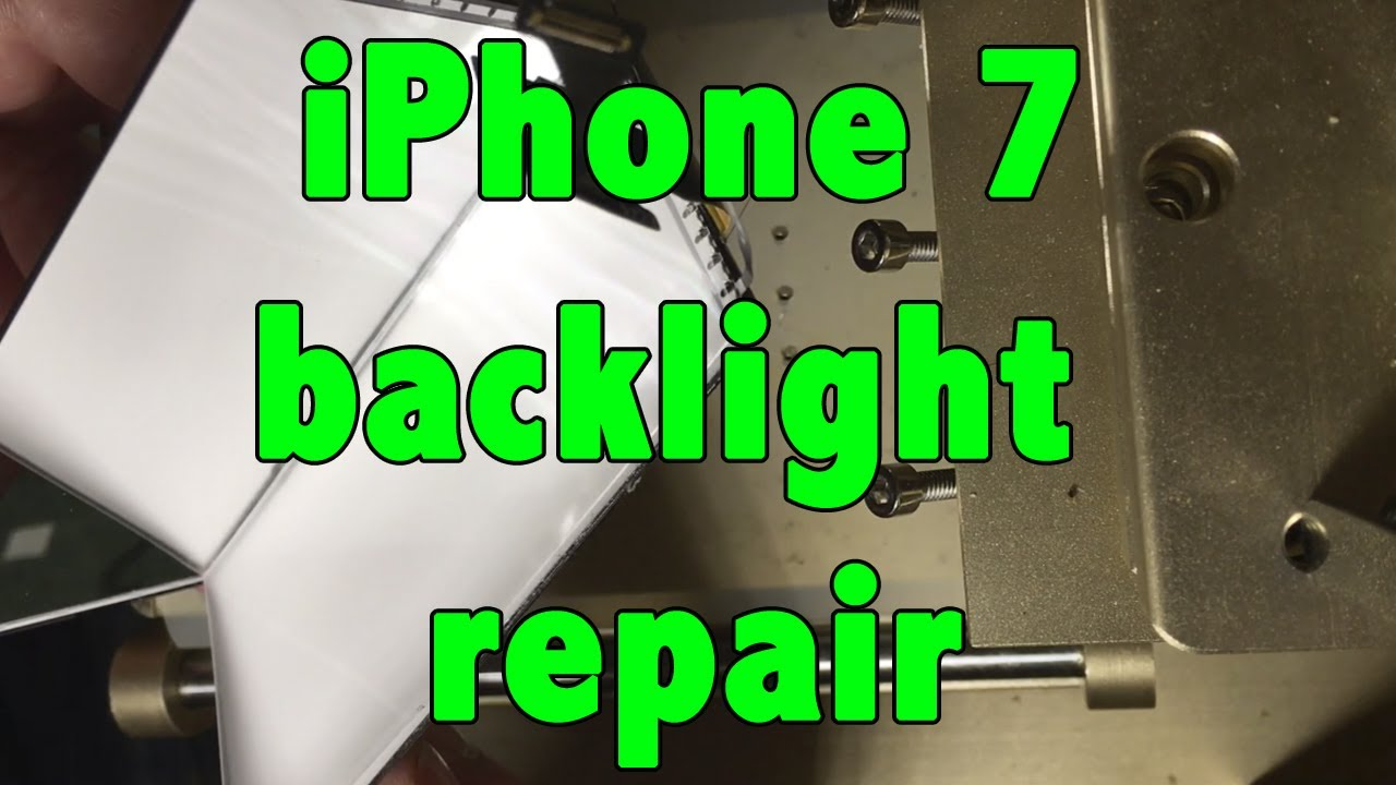 factory price 3b185 cea17 iphone 7 backlight repair