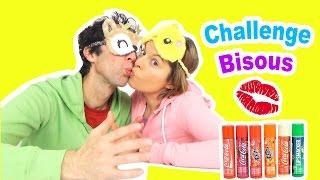 CHALLENGE bisous CHAPSTICK LIP SMAKER en couple 6 parfums COCA & SODAS