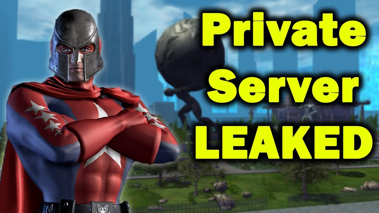 City of Heroes Private Server Is REAL | TOP SECRET