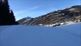 CampingWelt Brixen im Thale skiën tot de caravan