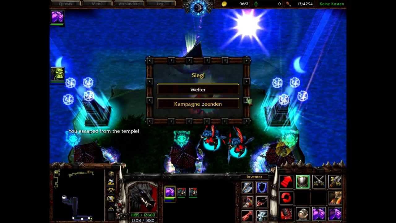 Warcraft III/Custom Map Ending: The 10 Lost Heroes (Good Ending) 1/2
