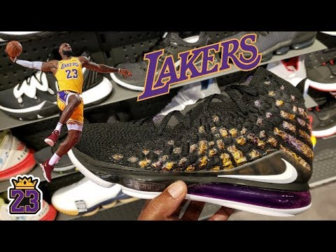 EARLY LOOK   NIKE LEBRON 17 'LAKERS' IN STORE REVIEW + MORE HEAT