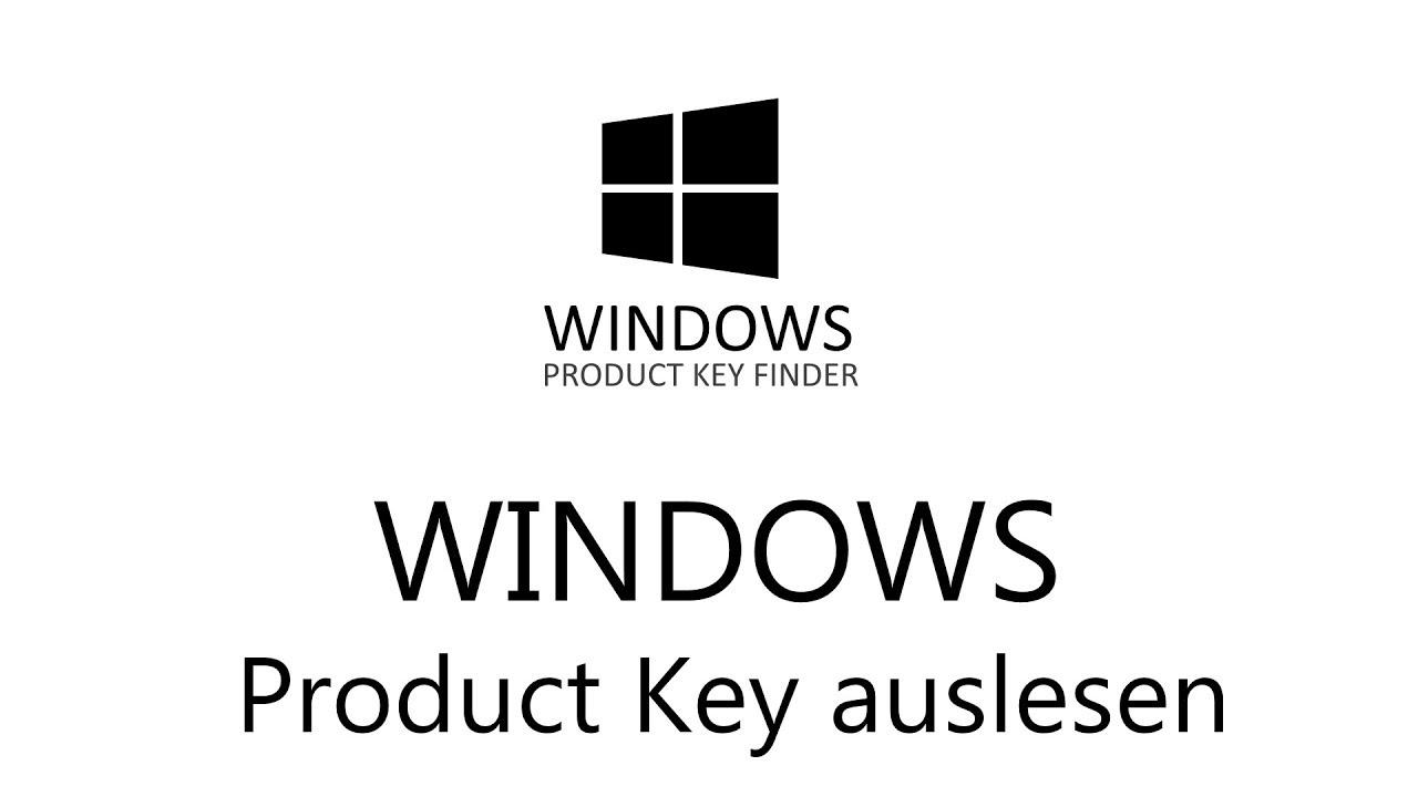 windows 10 product key aus registry auslesen