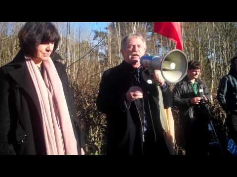 January 19, 2014: José Bové speech at Balcombe anti-fracking rally (2 of 2)