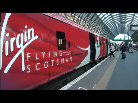 New Virgin Trains EC First Class Experience from London Kings Cross to Edinburgh Waverley June 2016.