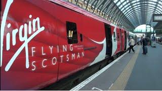 New Virgin Trains EC First Class Experience from London Kings Cross to Edinburgh Waverley June 2016.
