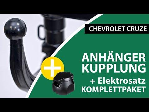 Anhängerkupplung Abnehmbar CHEVROLET CRUZE  | Westfalia Komplettsatz + Montage Von Rameder