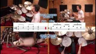 Jazz Waltz Drumming - Icanplaydrums.com