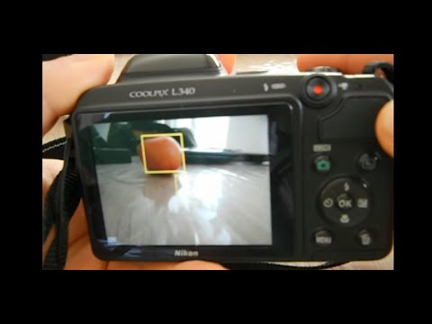 Nikon coolpix L340 zoom test