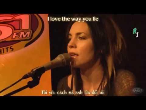 [VIETSUB/LYRICS] Coming Home + I Need A Doctor + Love The Way You Lie (Medley) - Skylar Grey