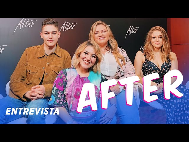 AFTER - ENTREVISTEI O ELENCO DO FILME AFTER