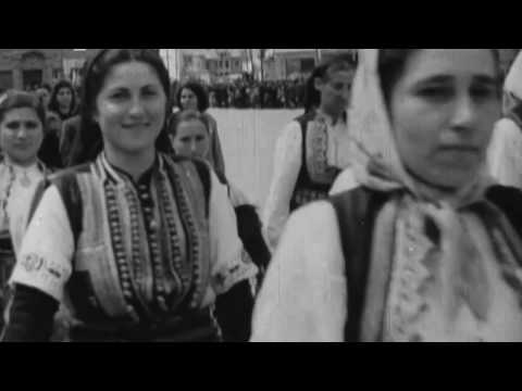 Skopje, 1942 Celebration of one year under Bulgarian administration.