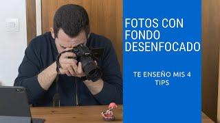 COMO HACER FOTOGRAFIAS CON FONDO DESENFOCADO