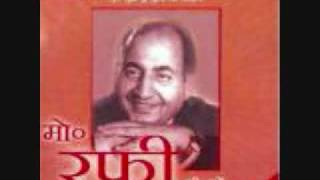 Film Maa Ke Aansoo, Year 1959 Song Kya Parvah by Rafi Sahab & Mubarak Begum