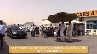 Affordable Cars Sale - Cars 4 U, FZCO Dubai Auction May 10, 2016