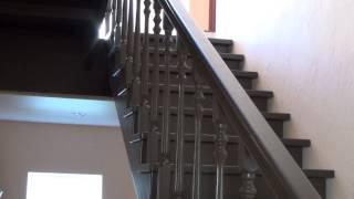 Деревянные лестницы. Лестницы на второй этаж(Купить лестницу в Санкт-Петербурге по телефону 8 (812) 424-37-54, в Москве 8 (499) 704-47-62 elitwoodproducts.com лестницы спб,..., 2014-04-05T18:45:29.000Z)