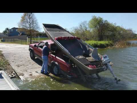 Redneck boat trailer part 2