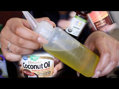Growing Long Healthy Hair | My Hair Oil Mixture