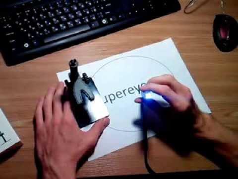 Обзор <b>USB</b> микроскопа B008 от supereyes - YouTube