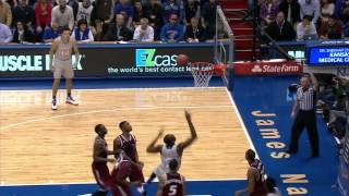 Kansas Defeats Rider 87-60 // Kansas Basketball // 11.24.14