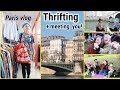 Thrift With Me In PARIS + our first ever Meetup! VLOG #9