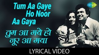 Enjoy the popular song tum aa gaye ho noor gaya hai in hindi & english lyrics sung by lata mangeshkar kishore kumar from movie aandhi film: s...