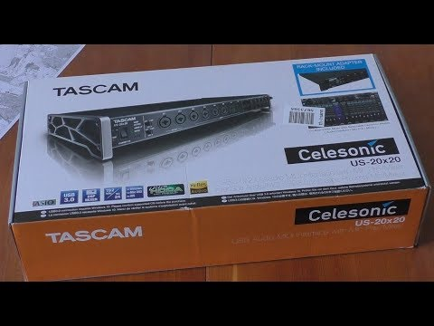 UNBOXING TASCAM US-20x20